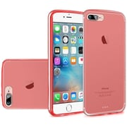 Insten Frosted Rubber Case For Apple iPhone 7 Plus - Red