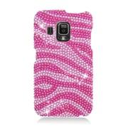 Insten Zebra Hard Bling Case For Pantech Perception - Hot Pink/Pink