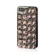 Insten Chrome Hard Skin Back Protective Rear Case For Apple iPhone 4 / 4S - Yellow Leopard