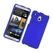 Insten Rubberized Hard Snap-in Case Cover for HTC One Mini - Blue