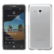 Insten Hard Crystal Cover Case For Alcatel One Touch Fierce XL - Clear