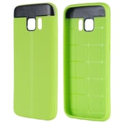 Insten T Style Anti-Slip TPU Skin Rubber Gel Case Cover For Samsung Galaxy S7 - Green/Black