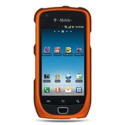 Insten Hard Crystal Rubber Skin Back Protective Shell Cover Case For Samsung Exhibit 4G T759 - Orange