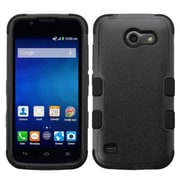 Insten Tuff Hard Hybrid Rubber Coated Silicone Cover Case For Huawei Union - Black