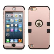 Insten Tuff Hybrid Dual Layer Shockproof Cover Case For iPod Touch 5 5th Gen / 6 6th Gen, Rose Gold/Black (2178091)
