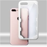 Insten Hard Crystal TPU Cover Case For Apple iPhone 7 Plus - Clear/White
