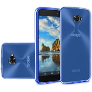 Insten Frosted TPU Case For Alcatel Idol 4S - Blue