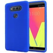 Insten Rugged Soft Rubber Case For LG V20 - Blue