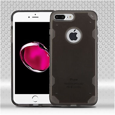 Insten Hard Clear Crystal TPU Case For Apple iPhone 7 Plus - Smoke