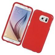 Insten Hard Case For Samsung Galaxy S6 - Red