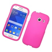Insten Hard Rubber Case For Samsung Galaxy Ace Style - Hot Pink