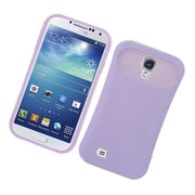Insten Two-Tone/NightGlow Jelly Hybrid Hard Silicone Case Cover For Samsung Galaxy S4 - Purple