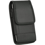 Insten Universal Vertical Pouch Eva Belt Clip Case Cover - Black