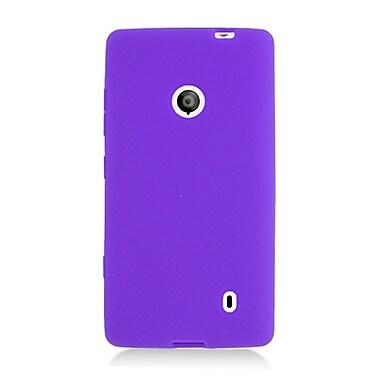 Insten Gel Rubber Cover Case For Nokia Lumia 521 - Purple