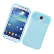 Insten Two-Tone/NightGlow Jelly Hybrid Hard Silicone Case Cover For Samsung Galaxy S4 - Blue