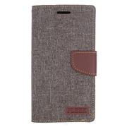 Insten Leather Wallet Cover Case with Photo Display & Card Slot For ZTE Warp Elite - Brown