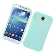 Insten Two-Tone/NightGlow Jelly Hybrid Hard Silicone Case Cover For Samsung Galaxy S4 - Mint Green