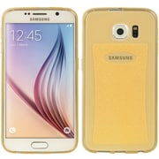 Insten Ultra Slim Crystal Skin TPU Rubber Skin Gel Case Cover For Samsung Galaxy S6 - Gold