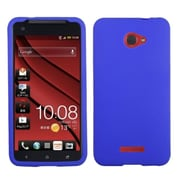 Insten Solid Skin Case (Electric Blue) for HTC: Droid DNA