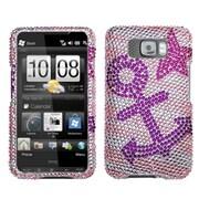 Insten Anchor Star Diamante Case for HTC: HD2