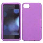 Insten Solid Skin Case (Electric Purple) for BLACKBERRY: Z10