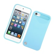 Insten Two-Tone/NightGlow Jelly Hybrid Hard Silicone Case Cover For Apple iPod Touch 5th Gen - Blue