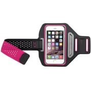 Insten Hot Pink Sport Vertical Pouch Armband Running Jogging Gym Case for iPhone 6 6s/Galaxy S6 S6 Edge (w/ key holder)