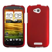 Insten Titanium Solid Red Phone Case for HTC: One VX
