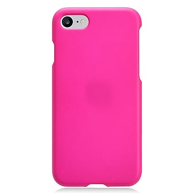 Insten Rubberized Hard Snap-in Case Cover for Apple iPhone 7 - Hot Pink