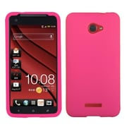 Insten Solid Skin Case (Hot Pink) for HTC: Droid DNA