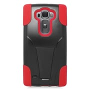 Insten Hard Hybrid Plastic 2-Layer Case with stand For LG G Flex 2 - Red