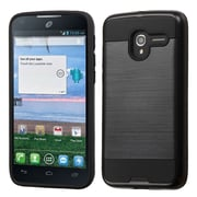 Insten Hard Dual Layer TPU Cover Case For Alcatel Stellar / Tru - Black