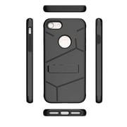 Insten For Apple iPhone 7 HLX Hybrid PC TPU Kickstand Shockproof Case Cover - Black
