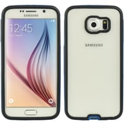 Insten Hybrid Transparent PC Hard Protective Bumper Case For Samsung Galaxy S6 - Clear/Blue