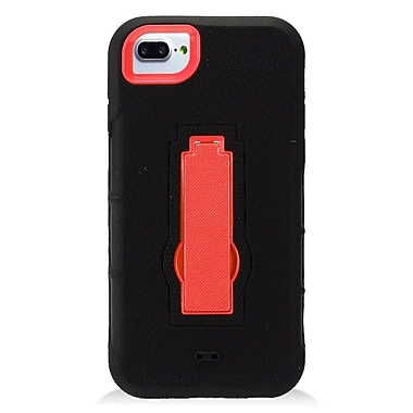 Insten Symbiosis Rubber Hybrid Hard Cover Stand Case For Apple iPhone 7 (4.7
