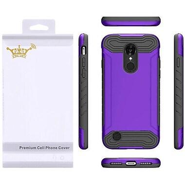 Insten Hard TPU Case For LG Aristo / LV3 - Purple/Black