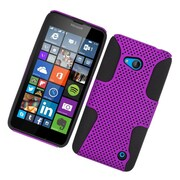 Insten Astronoot Hard Hybrid TPU Case For Microsoft Lumia 640 - Purple/Black