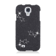 Insten Hard 3D Bling Case For Samsung Galaxy S4 - Black