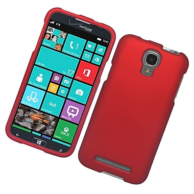 Insten Hard Rubber Coated Case For Samsung ATIV SE W750V Huron - Red