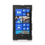 Insten Hard Crystal Rubber Skin Back Protective Shell Cover Case For Nokia Lumia 920 - Black