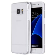 Insten Glamon Fusion TPU Candy Skin Rubber Gel Case For Samsung Galaxy S7 - Clear