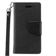 Insten Leather Case with Lanyard & Photo Display For ZTE Zephyr / Sonata 2 / Paragon - Black