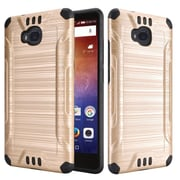Insten Hard Dual Layer TPU Case For Huawei Ascend XT - Gold
