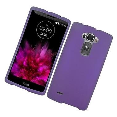 Insten Hard Rubber Coated Cover Case For LG G Flex 2 - Purple