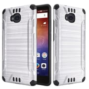 Insten Hard Dual Layer TPU Case For Huawei Ascend XT - Silver