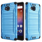 Insten Hard Dual Layer TPU Cover Case For Huawei Ascend XT - Blue
