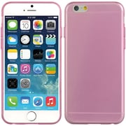 Insten Crystal 5mm Ultra Thin TPU Rubber Skin Gel Case For Apple iPhone 6 / 6s - Hot Pink