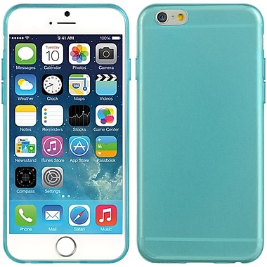 Insten Crystal 5mm Ultra Thin TPU Rubber Skin Gel Case For Apple iPhone 6 / 6s - Blue