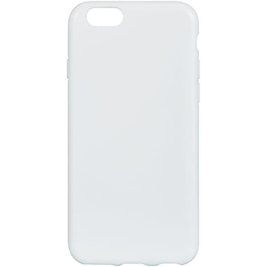 Insten Crystal Skin Tinted TPU Rubber Gel Case For Apple iPhone 6 / 6s - White