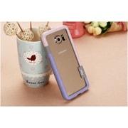 Insten Hard TPU Bumper For Samsung Galaxy S6 - Pink/Blue